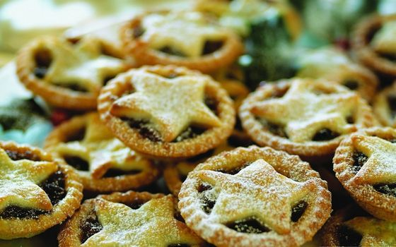 Photo free biscuits, stars, baking