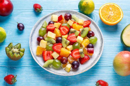 Photo free food, orange fruit, kiwifruit