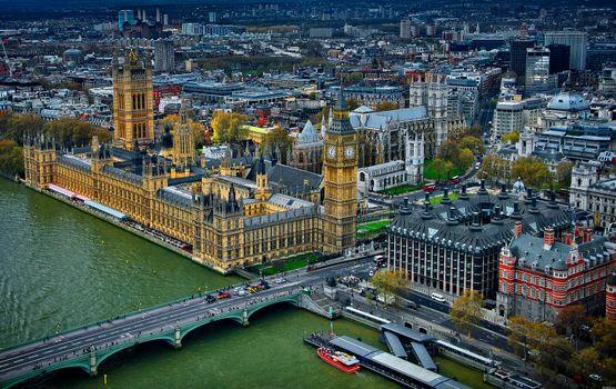 Заставка лондон, великобритания на компьютер