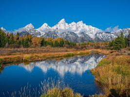 Фото бесплатно осень, горная осень, парки сша