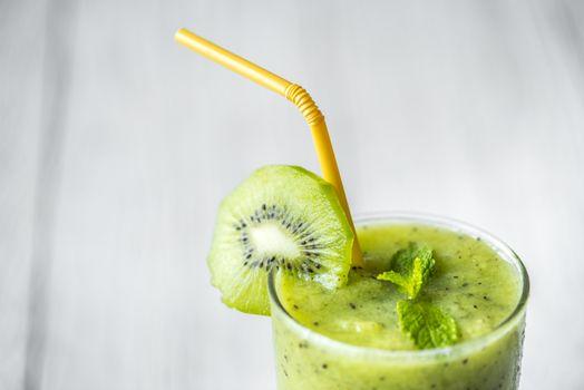 Фото бесплатно смузи, киви, фрукты