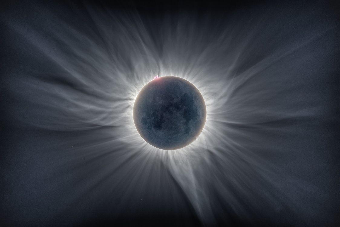 Фото бесплатно солнечная корона, галактики, звезды - на рабочий стол