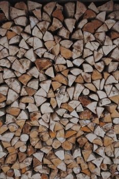 Photo free firewood, wooden, woodpile