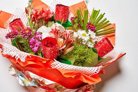 Фото бесплатно цветок, букет, розы