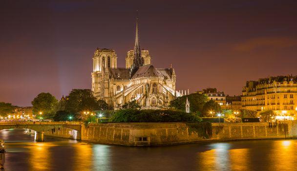 Фото бесплатно Notre-Dame de Paris, Франция, Париж