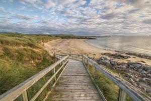 Бесплатные фото Gweedore, графство Донегал, Ирландия, море, берег, камни, спуск