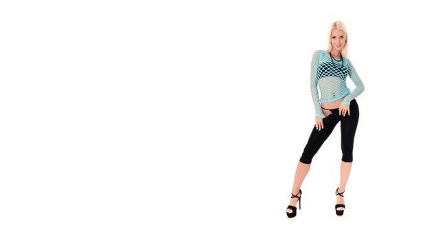 Фото бесплатно lynna nilsson, трусики, черные брюки