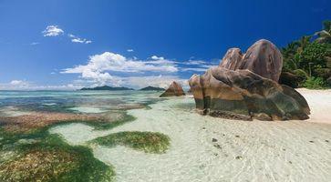 Фото бесплатно Сейшельские острова, море, берег