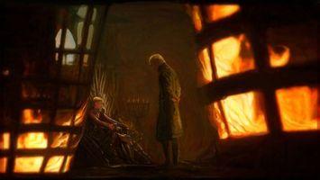Фото бесплатно Тивин Ланнистер, Джоффри Баратеон, Игра престолов