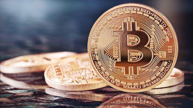 Фото бесплатно Bitcoin, монеты, валюта