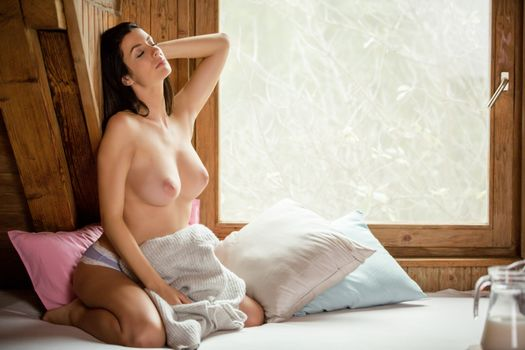 Фото бесплатно Катя, брюнетка, сексуальная девушка