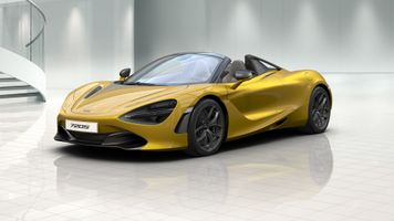 Photo free cars, yellow car, Mclaren 720S