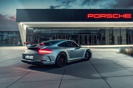 Фото бесплатно Porsche, Porsche GT3, Behance
