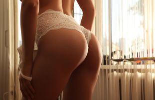Бесплатные фото sofie,модель,сексуальность,задница,нижнее белье,загорелая,белая бельё