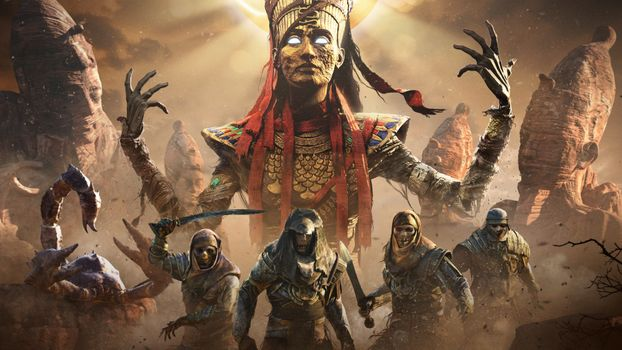 Заставки Ps Games, игры, Assassins Creed Origins