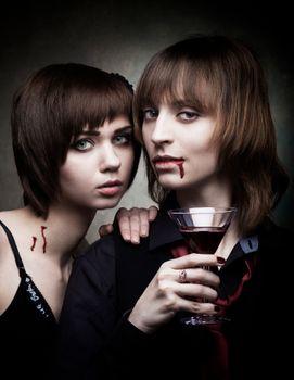 Photo free blood, vampires, women