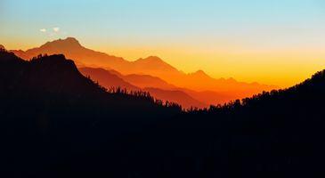 Фото бесплатно Непал, пейзаж, холмы