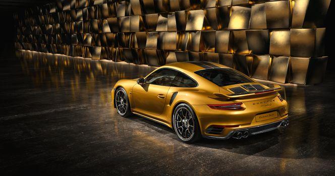 Заставки Porsche 991, авто, золотистый