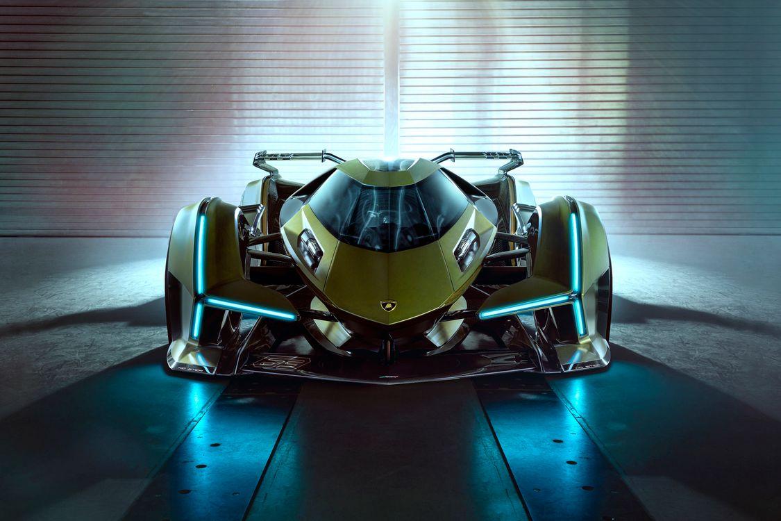 Фото бесплатно Lamborghini Vision Gran Turismo, автомобили, 2020 автомобилей - на рабочий стол