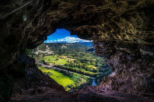 Photo free Puerto Rico, rock, arch