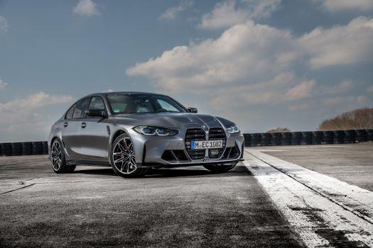 Photo free BMW M3, 2021, cars
