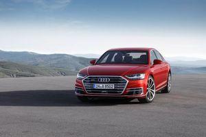 Бесплатные фото Audi A8,машина,горы,трасса,обочина,автомобиль,quattro