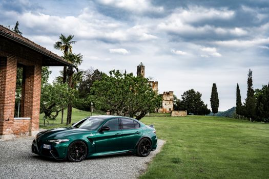 Photo free cars, alfa romeo, green