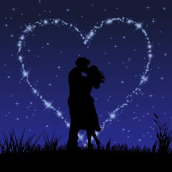 Заставки пара, поцелуй, искусство