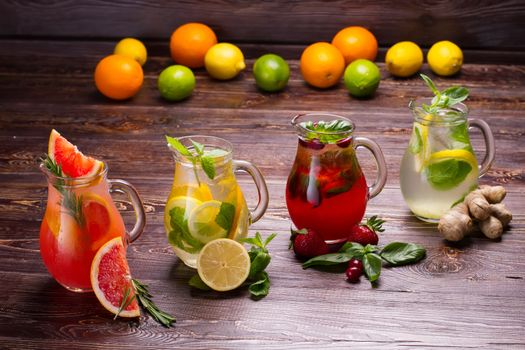 Photo free fruits, drinks, water
