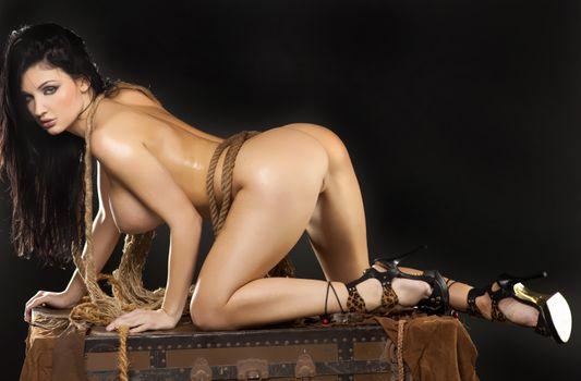 Бесплатные фото Алетта океан,черные волосы,модель,порнозвезда,сексуальная,грудь,ноги,задница,голые,каблуки,крупный план,венгерские