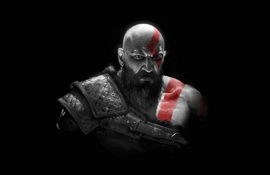 Фото бесплатно Kratos, God Of War, игр