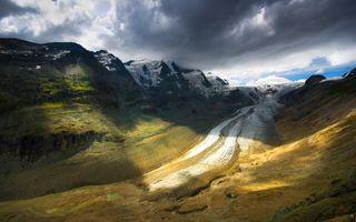 Фото бесплатно дикая местность, долина, горный хребет