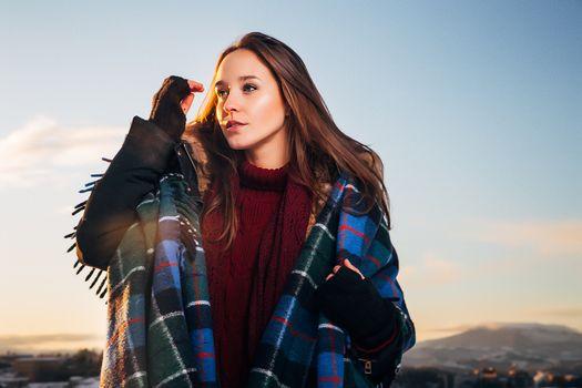 Photo free women, portrait, outdoors