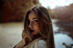Photo free model, charming, slim