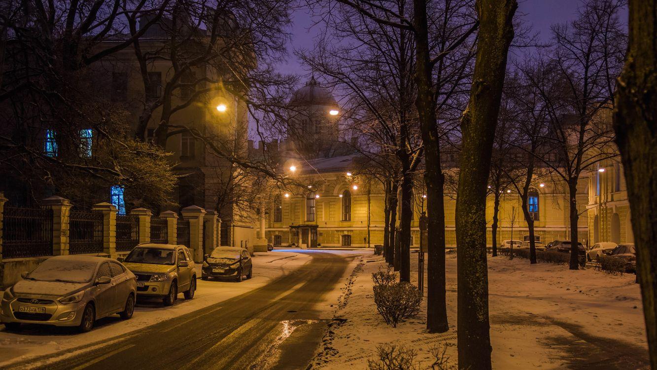 Картинка Тифлисская улица, Санкт-Петербург на рабочий стол. Скачать фото обои город