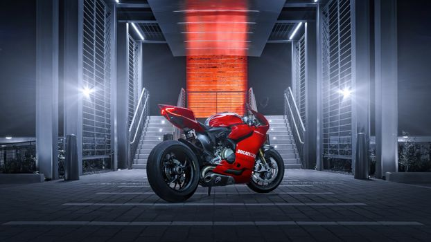 Фото бесплатно Ducati, Ducati 1199, красный