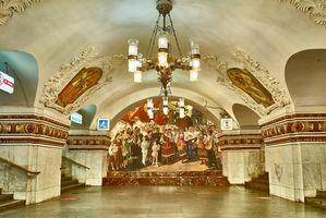 Фото бесплатно Станция метро Киевская, Москва, Россия