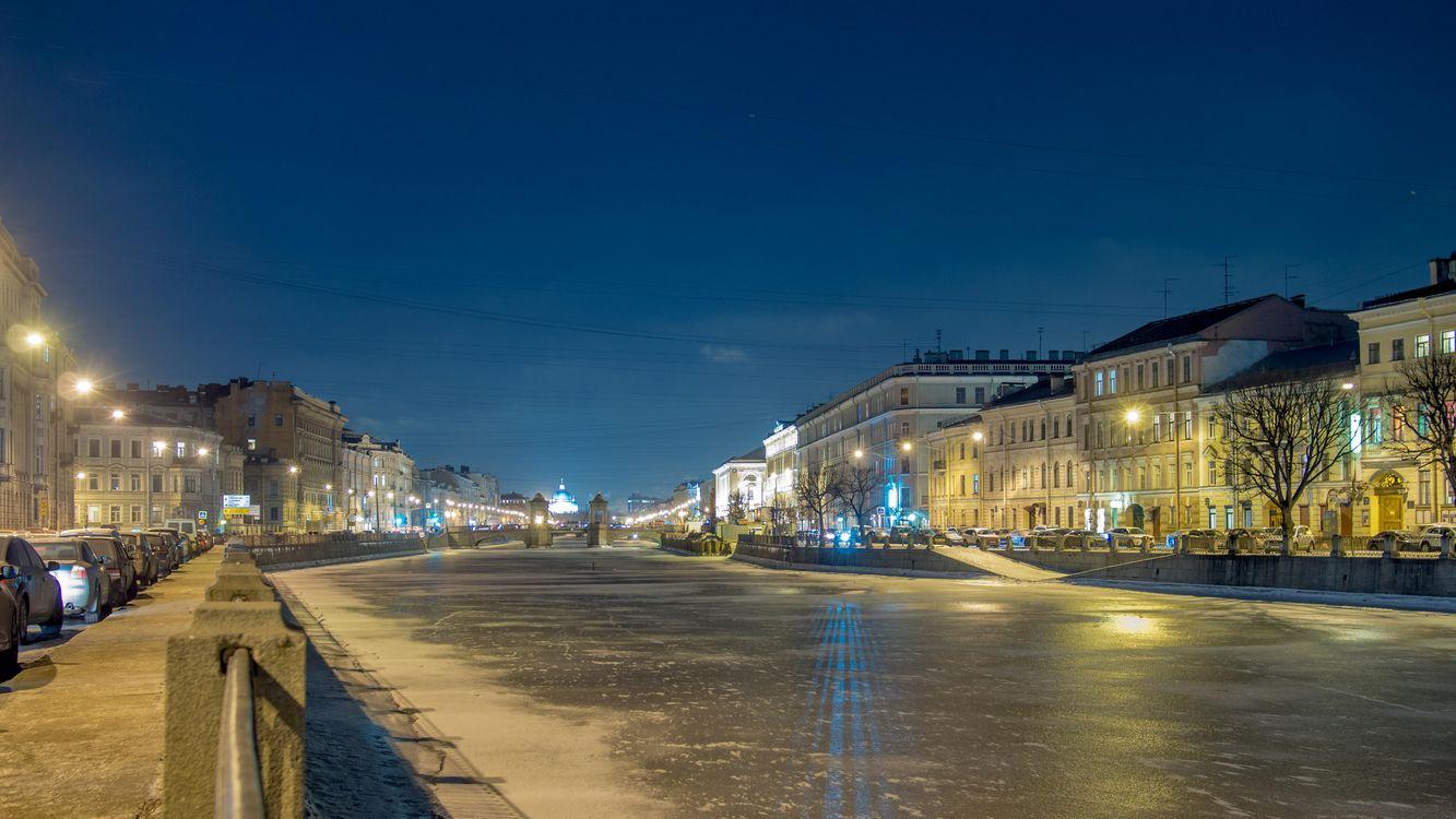 Фото бесплатно Fontanka river, St Petersburg, Фонтанка - на рабочий стол
