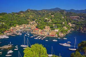 Бесплатные фото Италия,Портофино,море,яхты