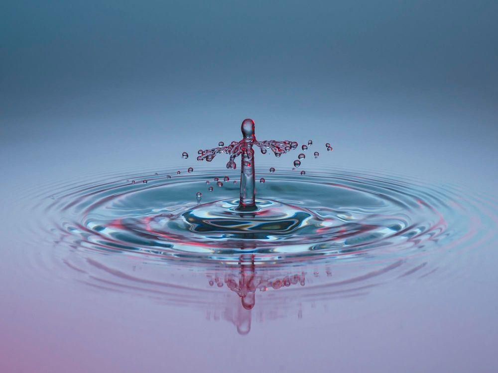 Фото бесплатно жидкость, вода, капля - на рабочий стол