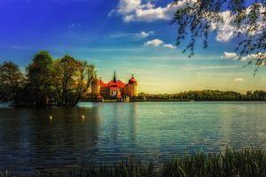 Бесплатные фото Castle Moritzburg,Замок Морицбург,Мейсен,Дрезден,Германия