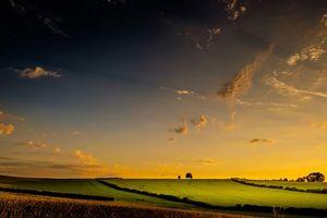 Красивые фотографии на тему холмы, поле