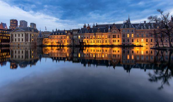 Photo free cities, Netherlands, pond