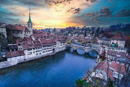 Photo free river Aare, Bern, Switzerland