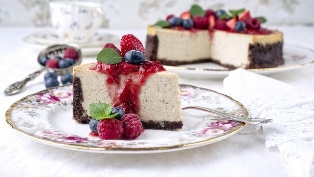 Фото бесплатно tort, chizkeik, iagody