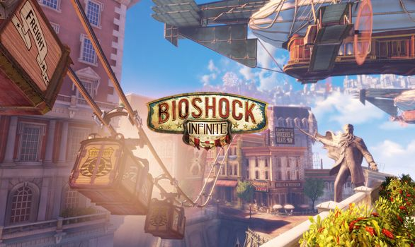 Photo free Bioshock Infinite, games, Pc Games