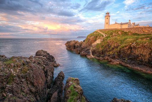 Бесплатные фото Маяк Фанада,графство Донегал,Ирландия