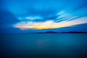 Photo free horizon, mountains, sea