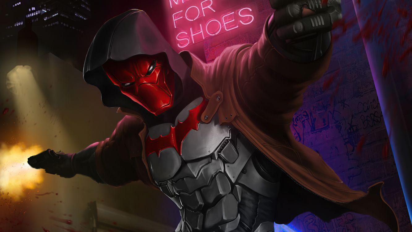Фото бесплатно Red Hood, Superheroes, Artwork - на рабочий стол
