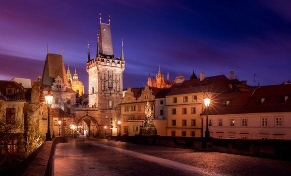 Фото бесплатно Czech Republic, фонари, Prague